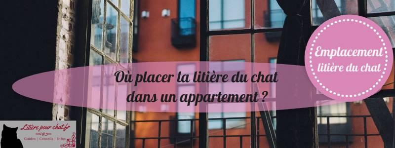 comment placer la litière en appartement ou loft ?